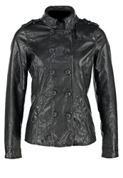 Freaky Nation Clarissa Leather Jacket Black