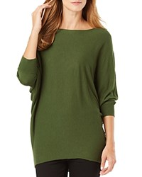 Phase Eight Becca Batwing Sweater Olive