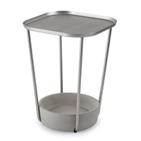 Umbra Tavalo Side Table Concrete Nickel