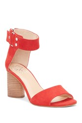 Vince Camuto Jannali Ankle Strap Sandal Red 05