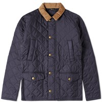 Barbour Canterdale Quilt Jacket Blue