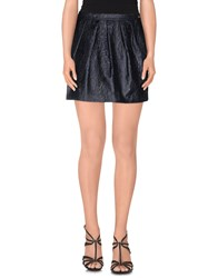 Alice San Diego Skirts Mini Skirts Women Dark Blue