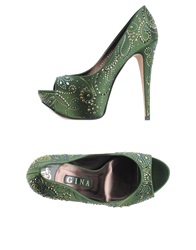 Gina Pumps Green