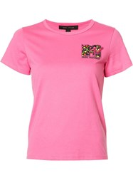 Marc Jacobs Mtv T Shirt Pink Purple
