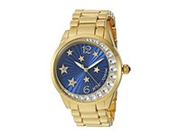 Betsey Johnson Bj00495 33 Star And Moon Blue Gold Watches