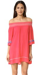 Ondademar Bohemian Short Dress Pink