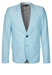 Villain Amos Suit Jacket Aqua Pop Blue