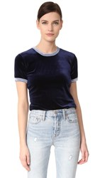 Liana Clothing The Plush Tee Navy Blue