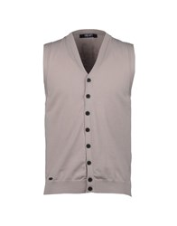 Liu Jo Jeans Knitwear Sweater Vests Men Grey