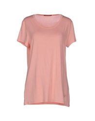 Guess By Marciano T Shirts Pink