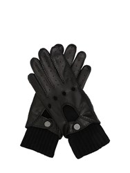 Ettore Bugatti Collection Leather Driving Gloves