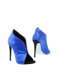 Alexis Mabille Booties Blue