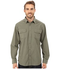 Mountain Khakis Ranger Chamois Shirt Dark Olive Men's Clothing