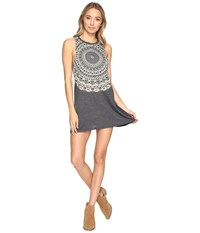 Billabong By And By Tee Dress Off Black Women's Dress