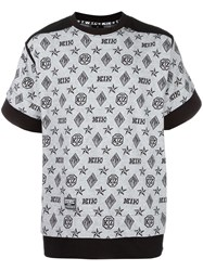 Ktz Monogram Inside Out T Shirt White