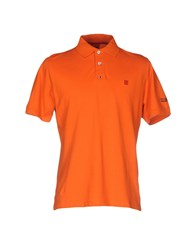 Club Des Sports Polo Shirts Orange
