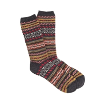 J.Crew Anonymous Ism Fair Isle Socks Black Multi
