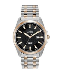 Citizen Mens Eco Drive Two Tone Watch