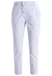 Opus Levy Trousers Blue Air Light Blue
