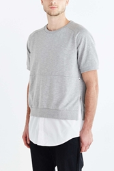 Shades Of Grey By Micah Cohen Short Sleeve Sweatshirt