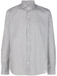 Xacus Checked Shirt Nude And Neutrals