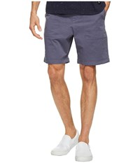Original Penguin Stretch Cotton Garment Dye Shorts Vintage Indigo Men's Shorts Black