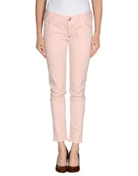 Guess Casual Pants Light Pink