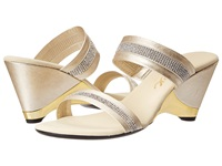 Onex Stunning Platinum Women's Wedge Shoes Silver