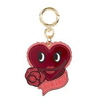 Burberry Shoes And Accessories Romance Charm Keyring Female Pink