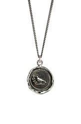 Pyrrha 'Creativity' Talisman Pendant Necklace Silver