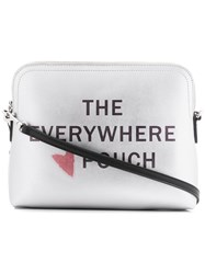 Dkny The Everywhere Pouch Silver