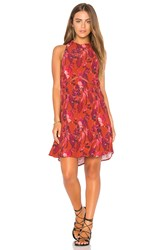 Beach Riot Maria Dress Red