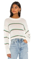 Joie Dreolan Sweater In Ivory. Porcelain