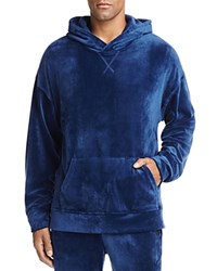 The Narrows Velour Hooded Sweatshirt 100 Exclusive Navy Blue