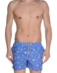 Hackett Swimming Trunks Azure