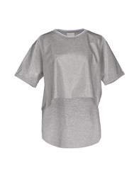 Luxury Fashion Topwear T Shirts Women Grey