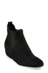 Fs Ny French Sole 'Moped' Hidden Wedge Bootie Women Black