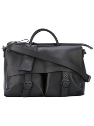 Marsell Slouchy Buckled Tote Women Leather One Size Black