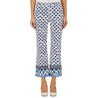 Philosophy Di Alberta Ferretti Women's Pique Crop Trousers Size 0 Us No Color