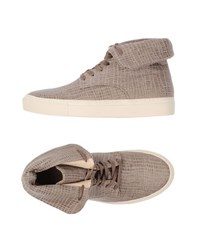 Armani Collezioni Footwear High Tops And Trainers Women Khaki