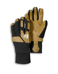 Eddie Bauer Two Tone Guide Lite Gloves Natural