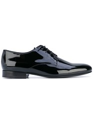 Valentino Lace Up Shoes Men Leather Patent Leather 42.5 Black