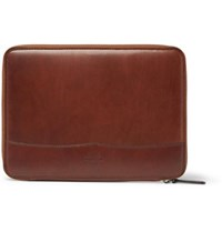 James Purdey And Sons Leather Tablet Case Brown