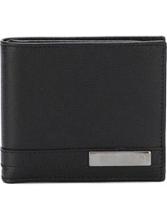 Gucci 'Metal Tag' Bi Fold Wallet Black