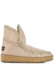 Mou Eskimo 18 Ankle Boots Gold