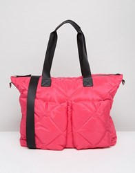 Asos Lifestyle Quilted Holdall Pink