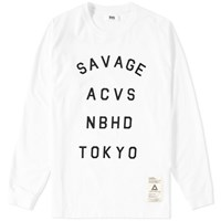 Neighborhood Svg Archives By Long Sleeve Sant 1 Tee White