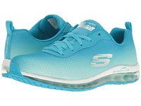 Skechers Ombre Mesh Lace Up W Air Cool Blue Mint Women's Shoes