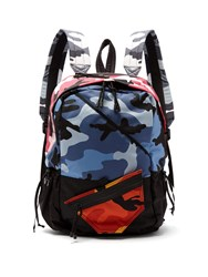 Valentino Camouflage Backpack Multi