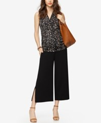 A Pea In The Pod Maternity Wide Leg Pants Black